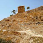 Treppe in der Wüste
