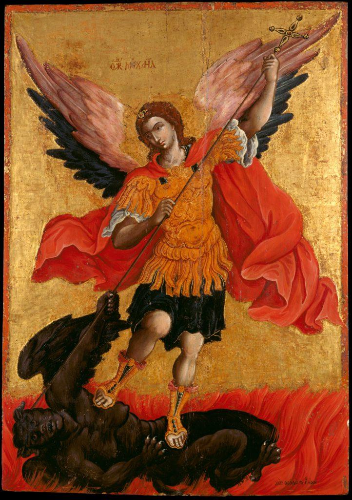 Der heilige Erzengel Michael